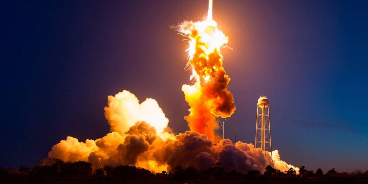 NASA revela fotografías nunca antes publicadas de la explosión del cohete Antares