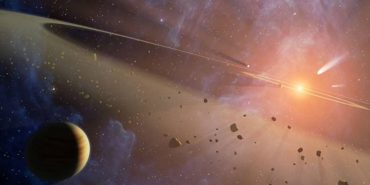Quizá las ondas gravitacionales del inicio del universo no fueron más que polvo