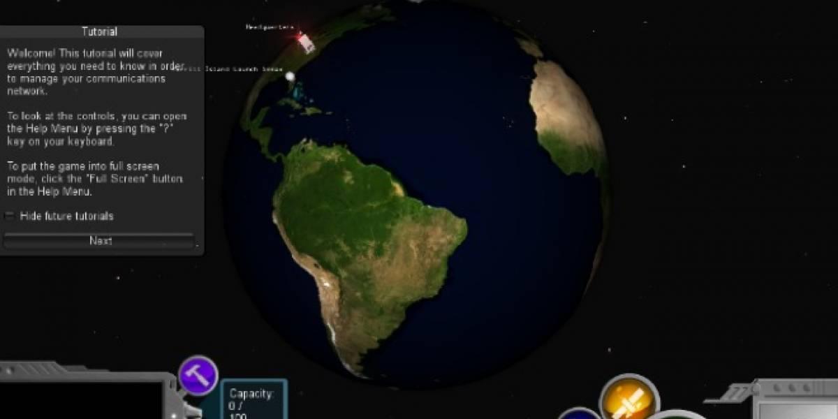 NASA lanza juego sobre comunicación espacial