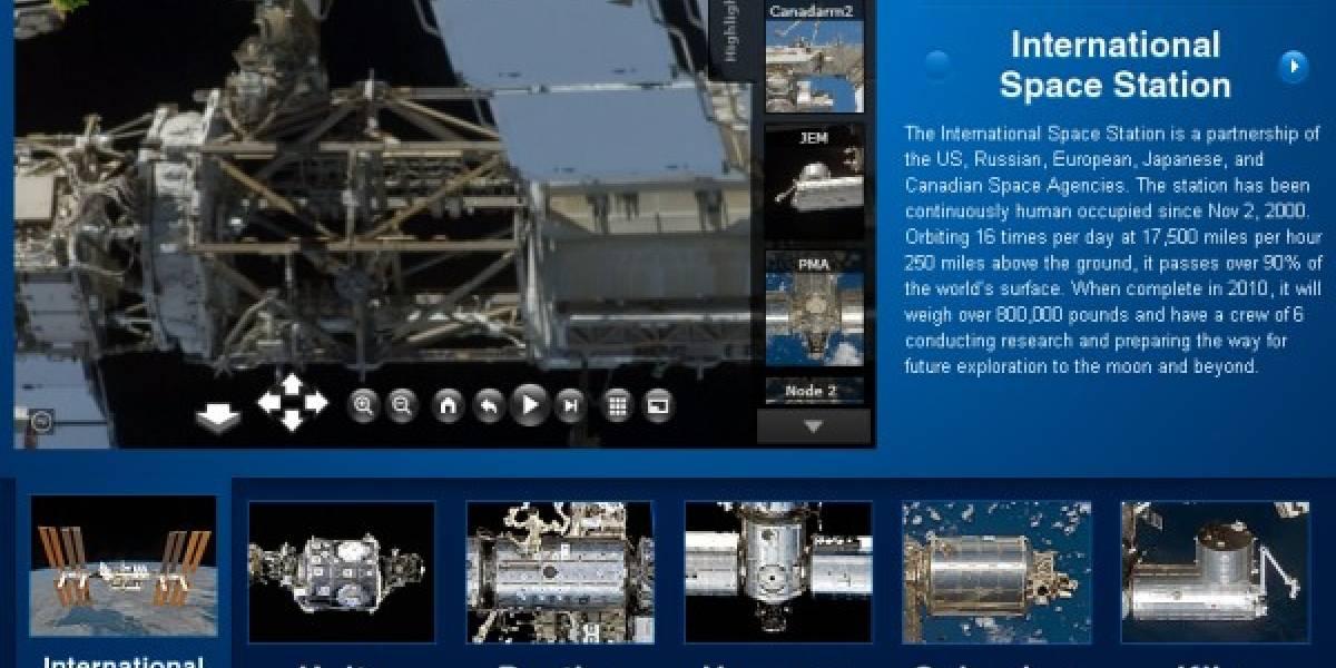 Imperdible: ISS y MSL en 3D