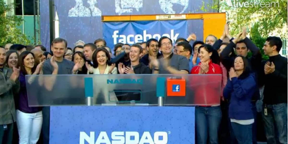Mark Zuckerberg hizo sonar la campana en el Nasdaq hoy (Video)