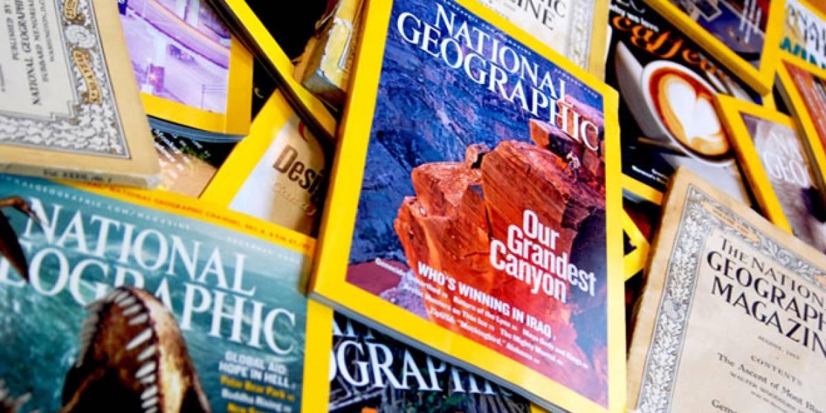 National Geographic da la vuelta a la página, explora la opción de volverse digital