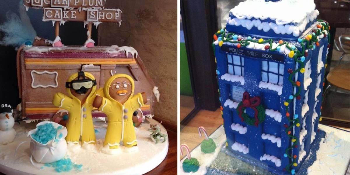 Las casas de galleta más nerds de Navidad