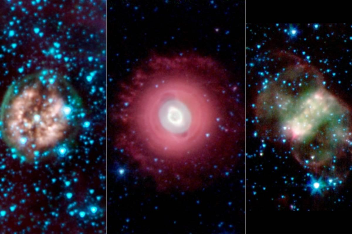 NASA celebra Halloween con nebulosas fantasmagóricas