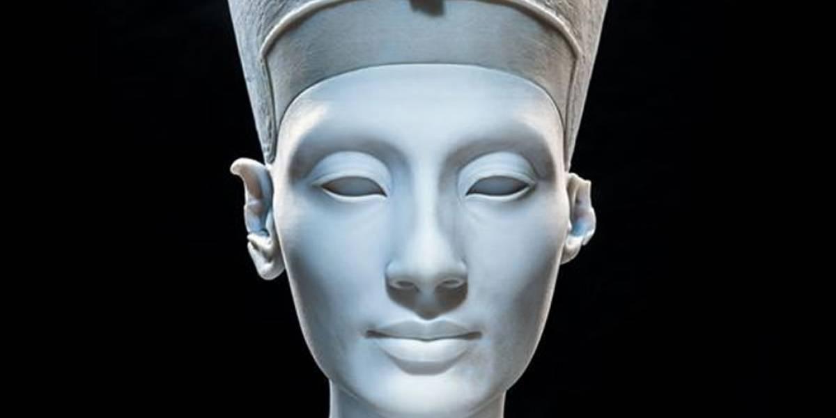 Artistas escanearon busto de Nefertiti y publican archivo para imprirlo en 3D