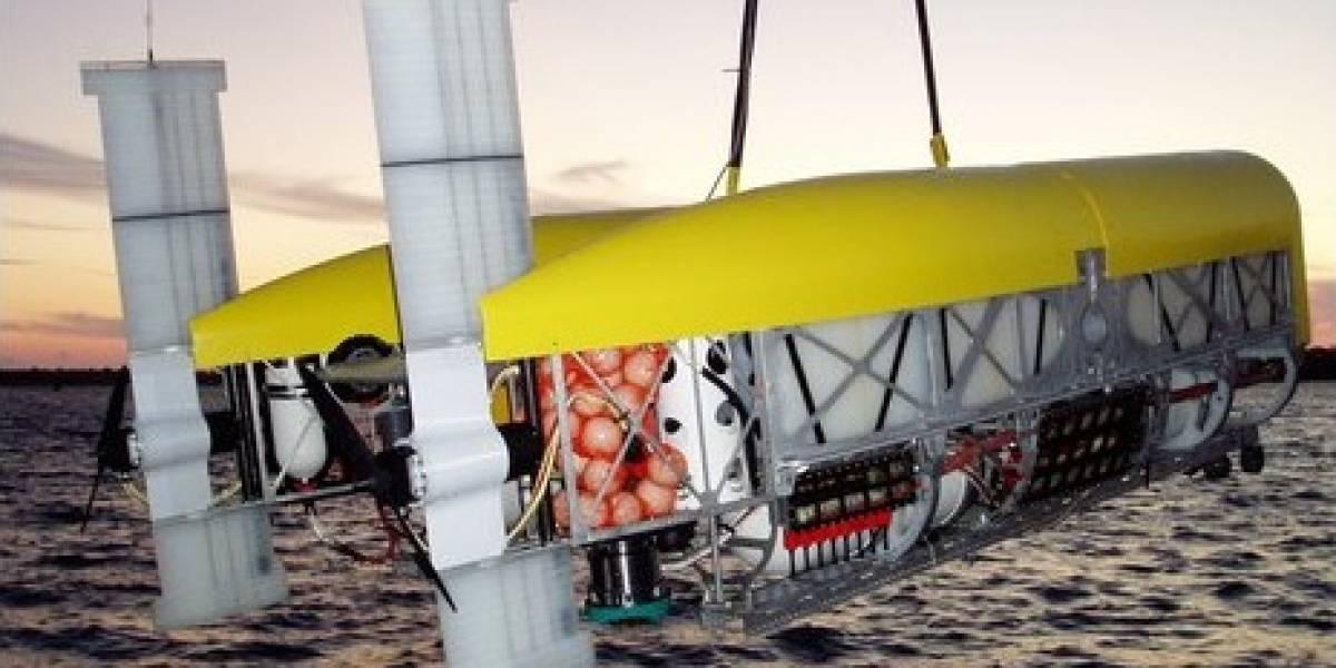 Robot submarino se sumergirá en lo más profundo del océano