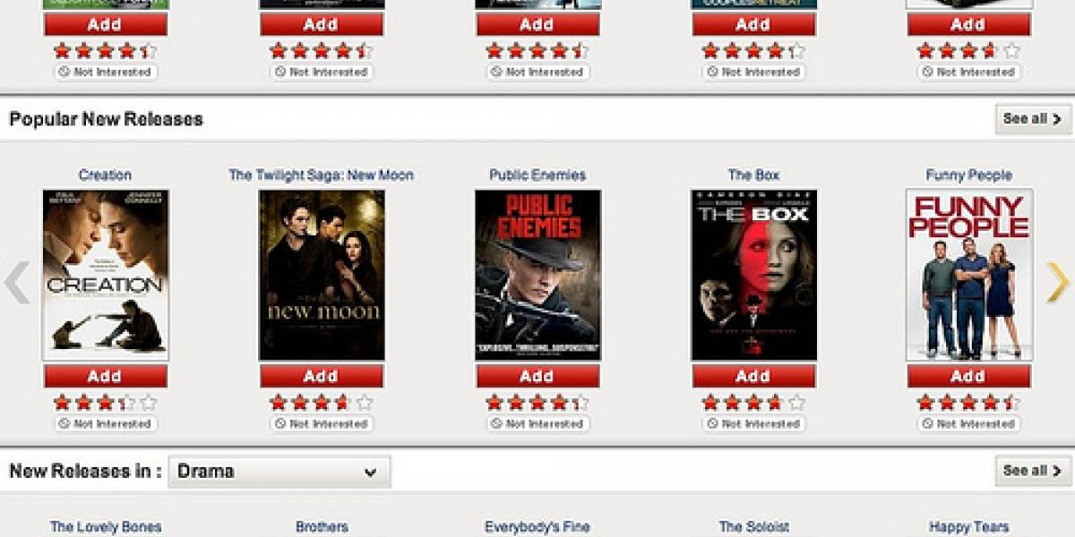 Usuarios de Netflix consumieron dos mil millones de horas de vídeo en tres meses