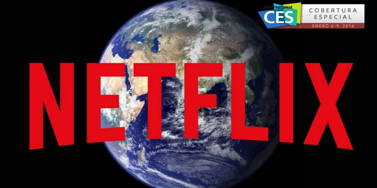 Netflix ya está disponible en todo el mundo #CES2016