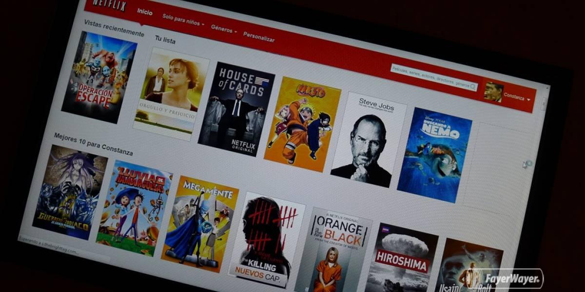 Netflix agrega listas para guardar videos y verlos después