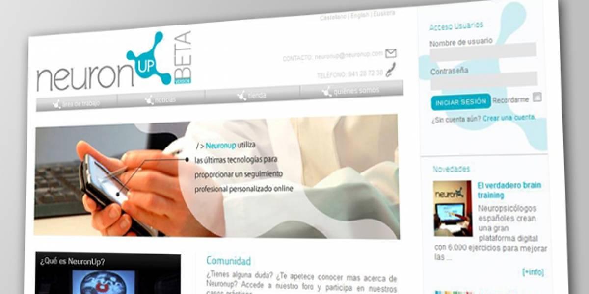 NeuronUp: Una plataforma que ayuda contra los síntomas de enfermedades degenerativas