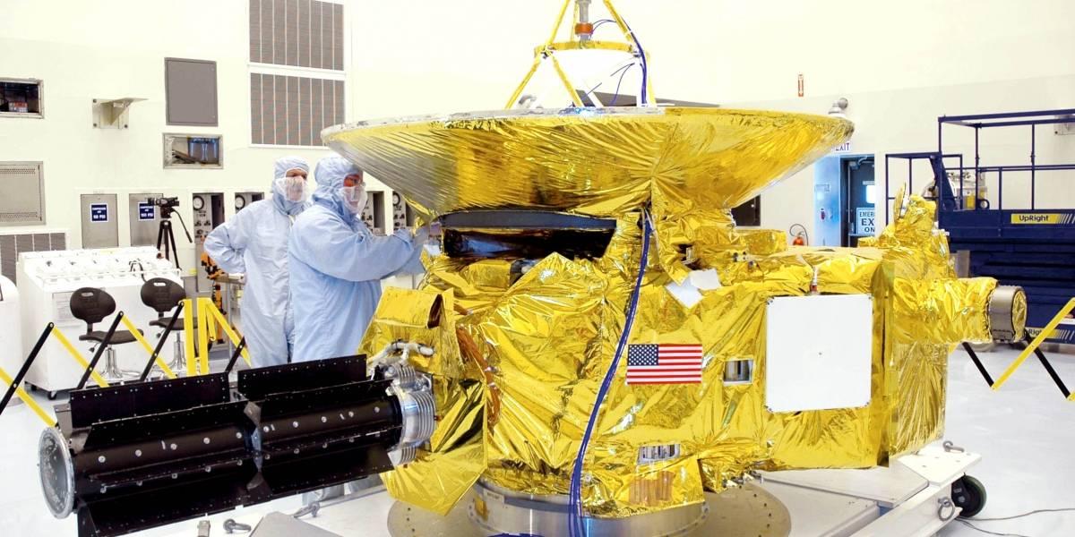 New Horizons despertará el 6 de diciembre para su encuentro con Plutón