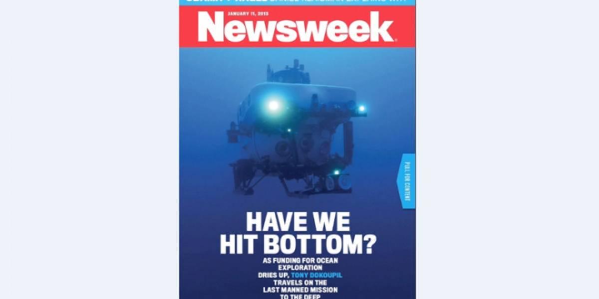Revista Newsweek estrena su primera versión 100% digital con portada animada