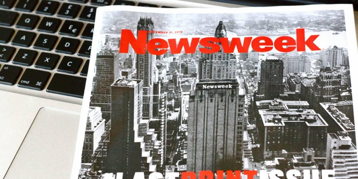 Newsweek volverá a imprimirse en papel después de un año siendo digital