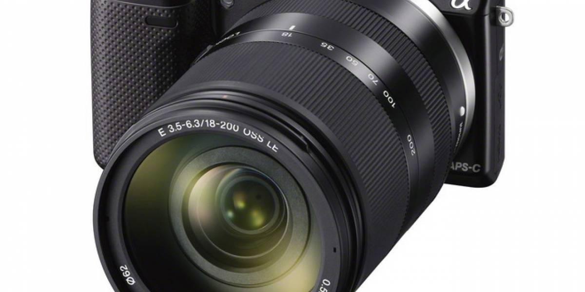 México: Llega la cámara NEX-5R de Sony