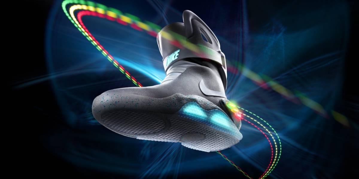 Podríamos ver las zapatillas autoajustables de Regreso al Futuro en 2015