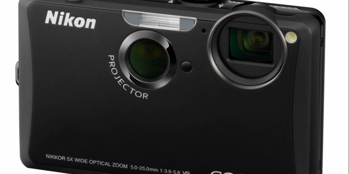 Nikon Coolpix S1100pj: Cámara digital de 14MP con proyector