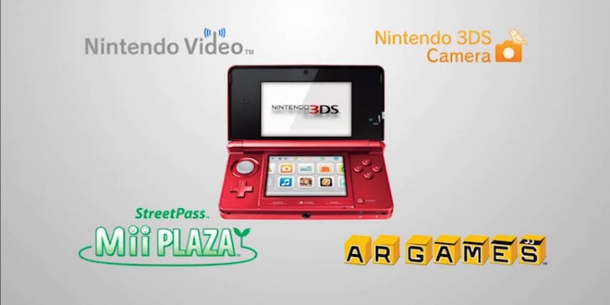 Nintendo 3DS actualiza su firmware en noviembre