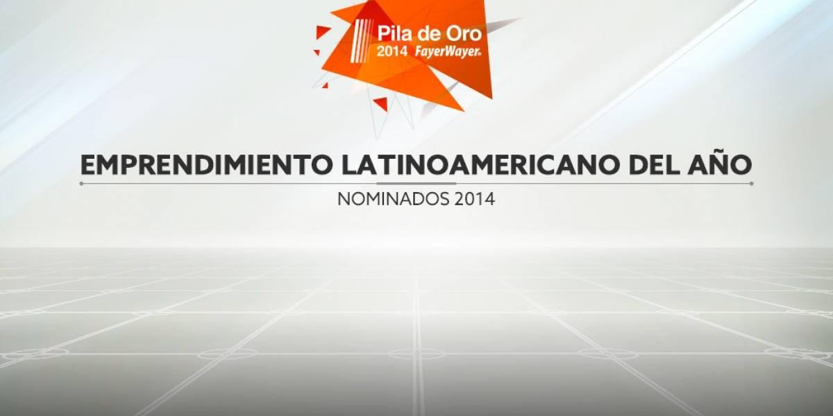 Vota por el emprendimiento latino del año [Pila de Oro]