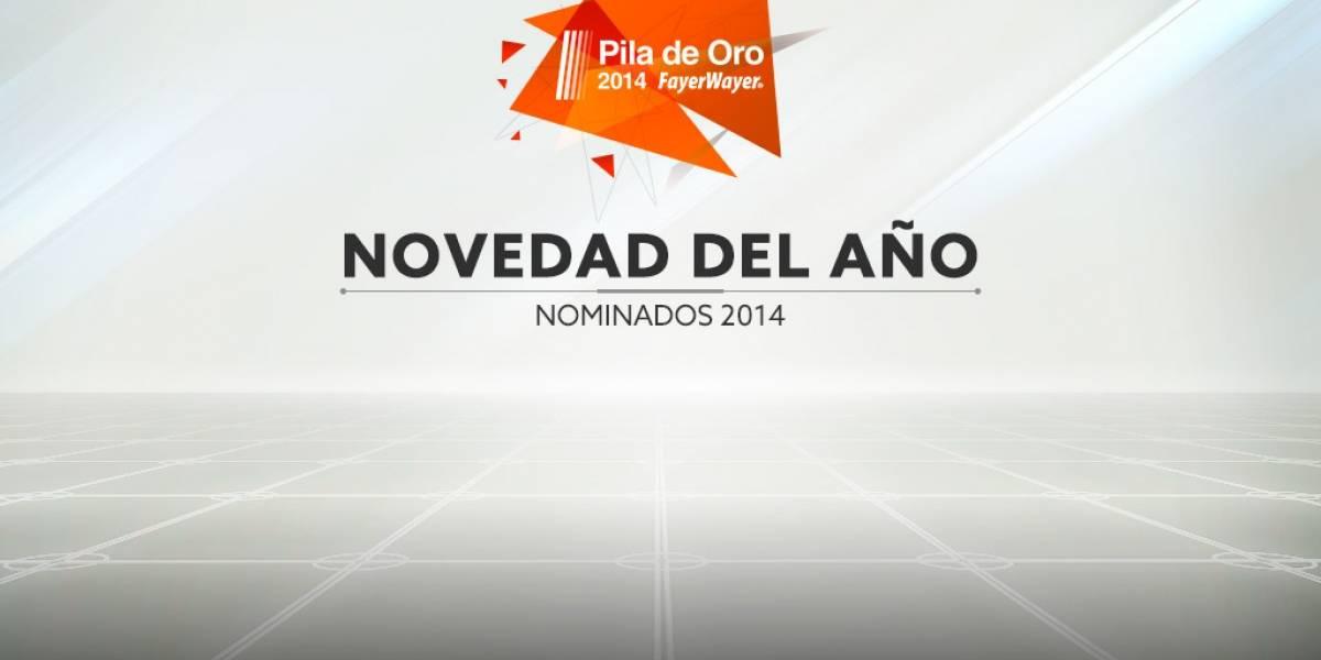 Vota por la novedad de 2014 [Pila de Oro]