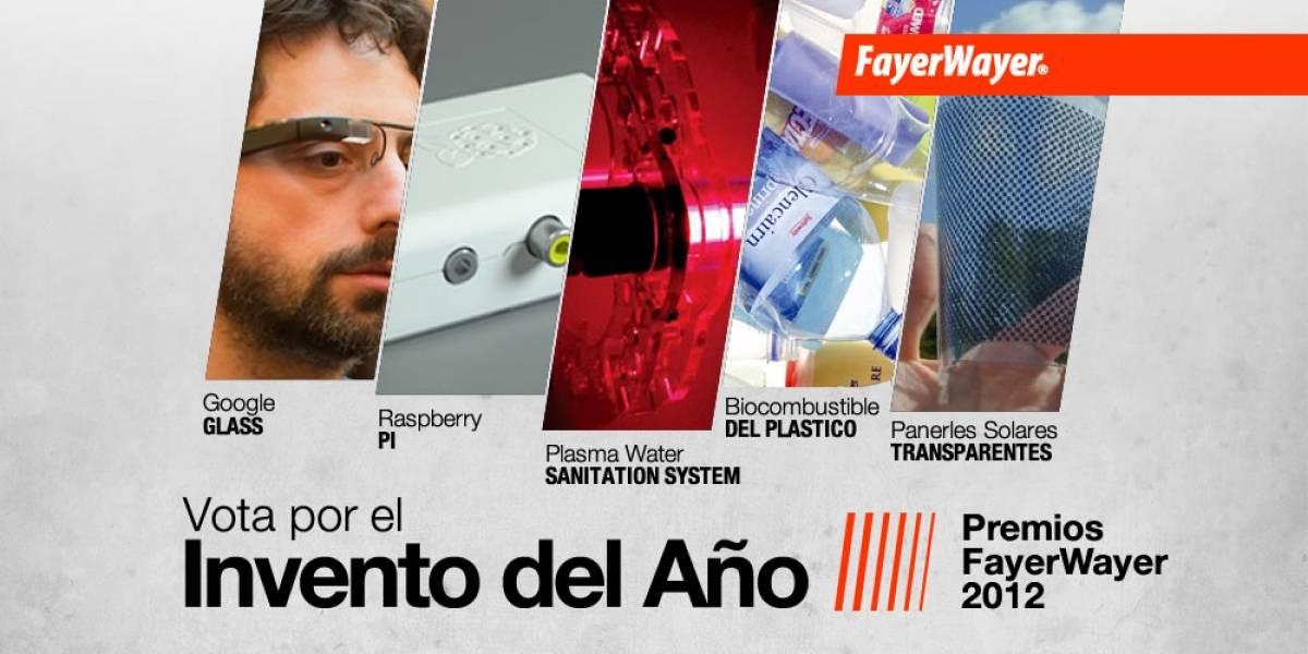 Pila de Oro: Vota por el Invento del Año 2012