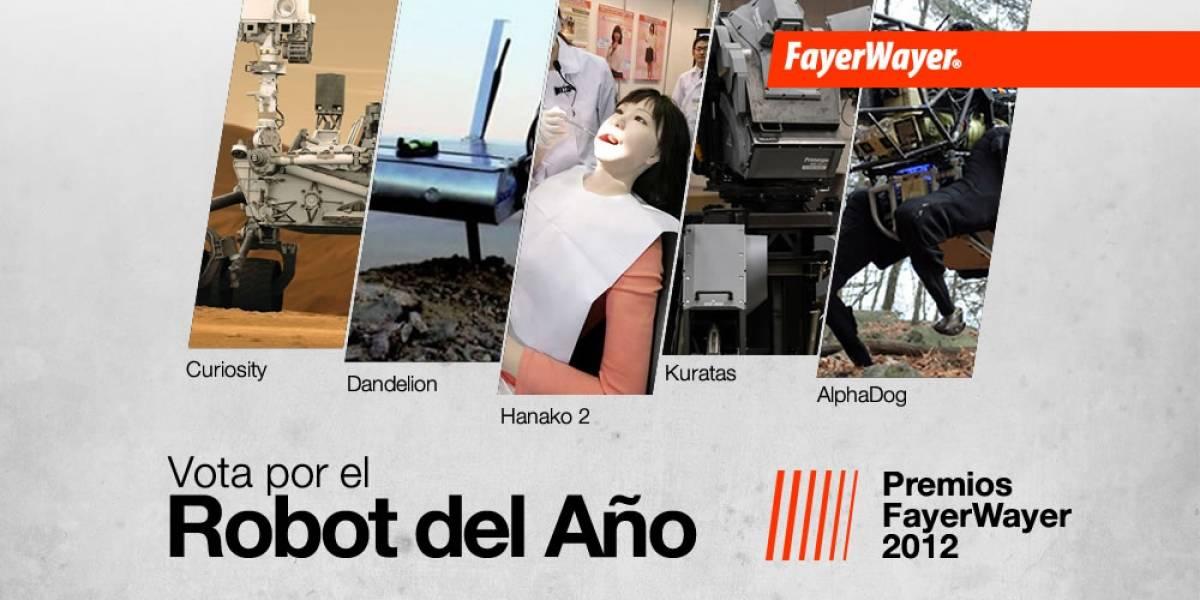Pila de Oro: Vota por el Robot del Año 2012