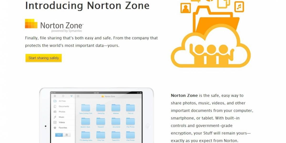 """Symantec anuncia su propio sistema de almacenamiento en la nube, """"Norton Zone"""""""