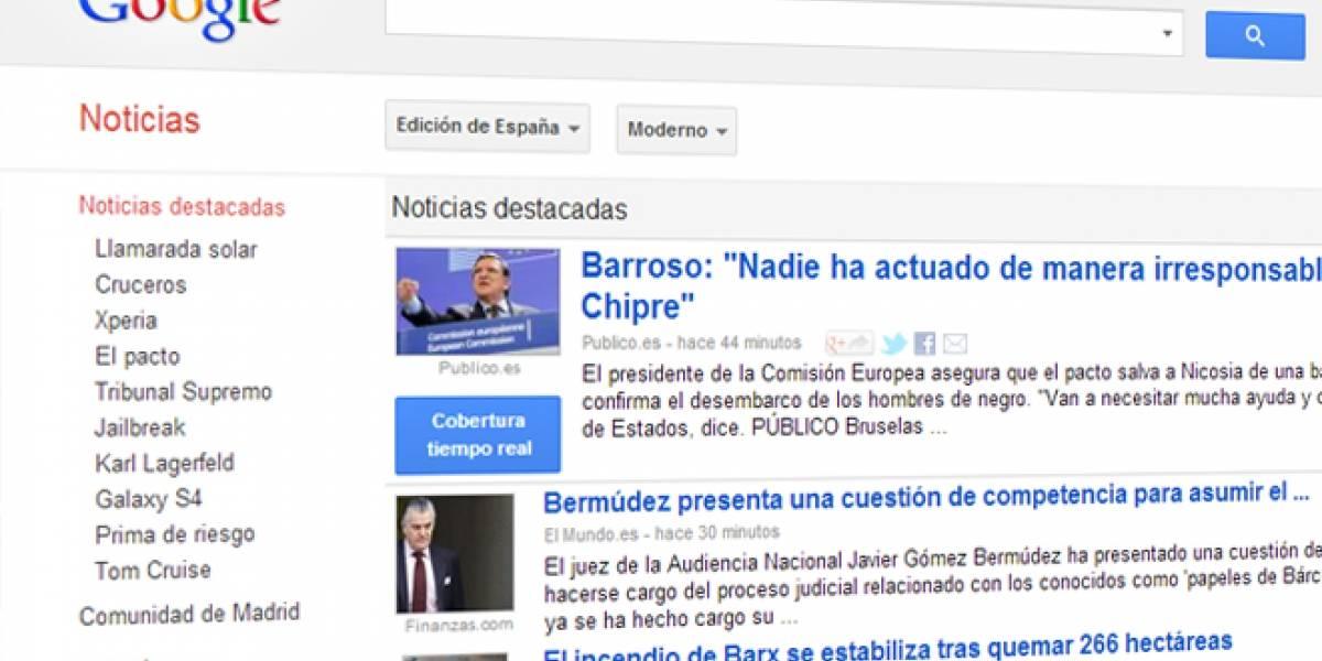 Futurología: Google tendría que pagar a los periódicos españoles por enlazar sus noticias