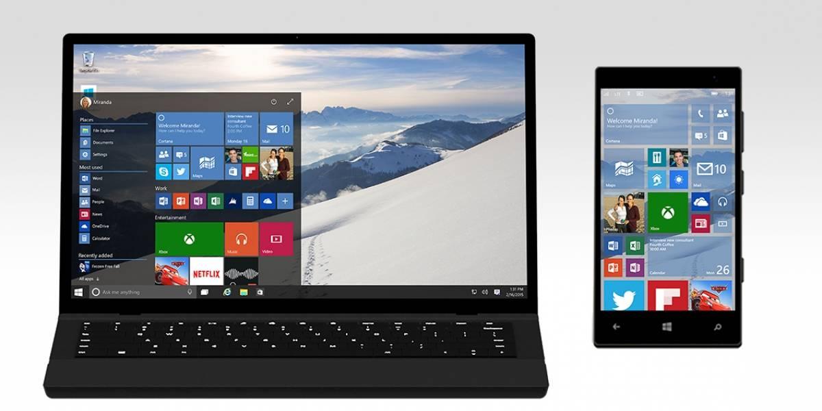 Nueva beta de Windows 10 incluye nuevas aplicaciones de correo y calendario