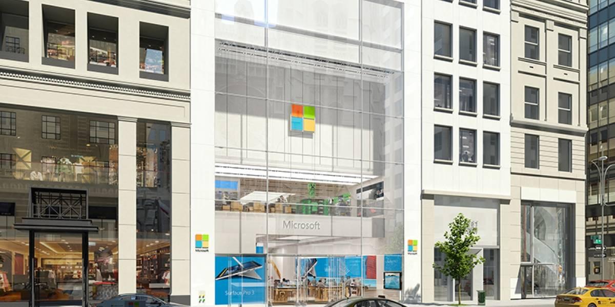 Microsoft ya tiene su tienda en la Quinta Avenida de Nueva York