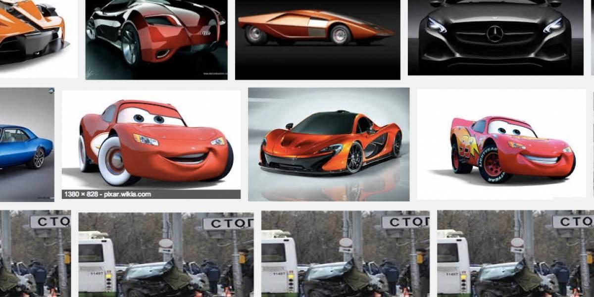 Error en buscador de imágenes de Google muestra antiguo accidente vial en Rusia