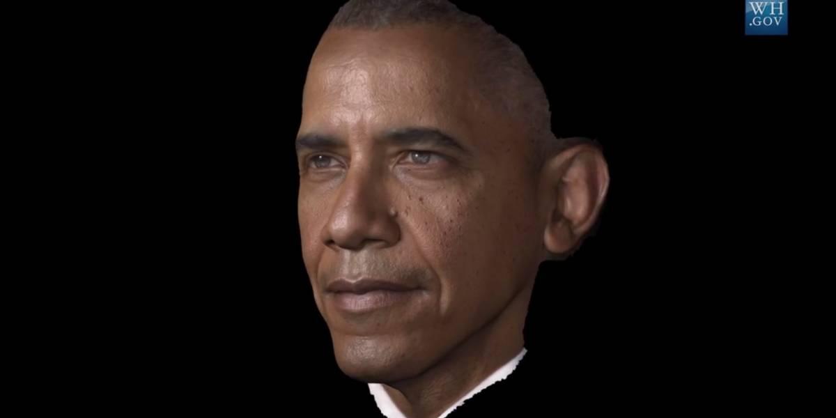 Obama es el primer presidente de EE.UU. escaneado e impreso en 3D