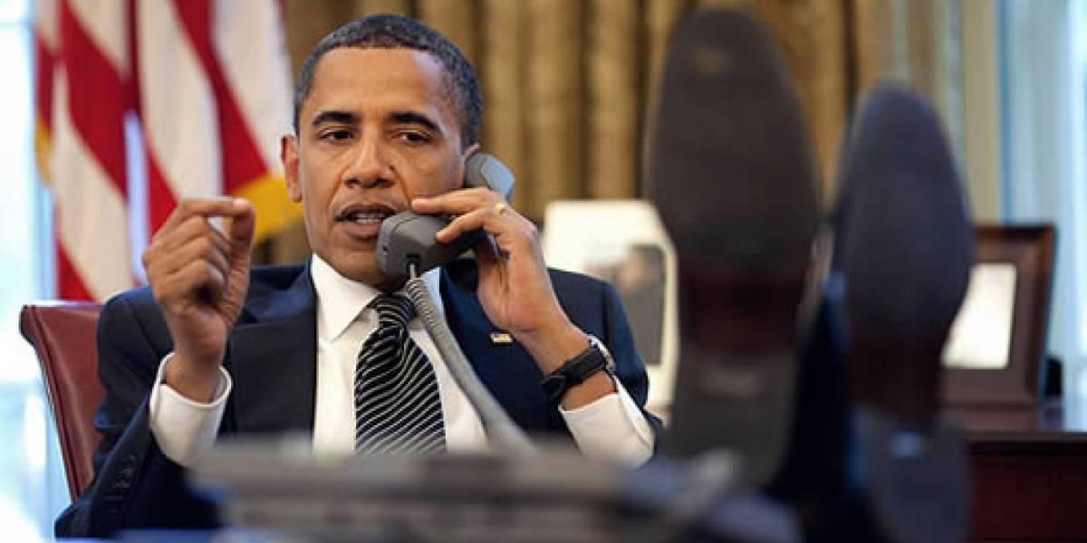 Obama se quejó por la falta de equipos tecnológicos en la Casa Blanca