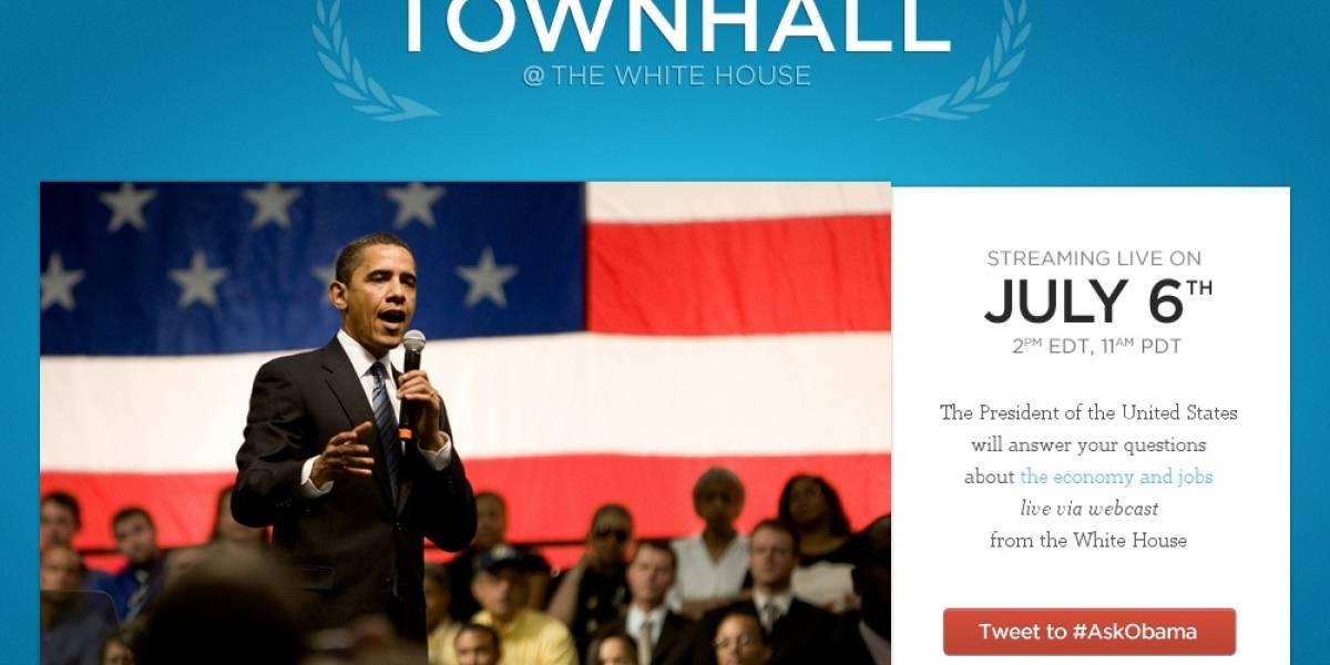 Obama responderá inquietudes de la gente en primera reunión informal por Twitter