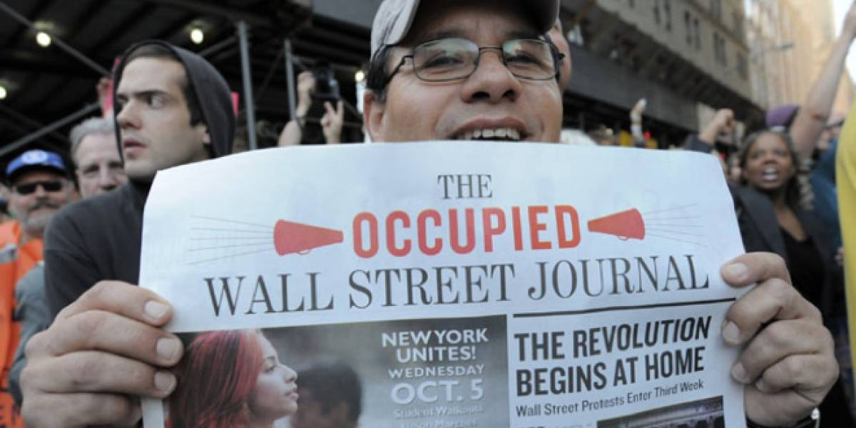 Diario de Occupy Wall Street junta más de US$ 75 mil en Kickstarter