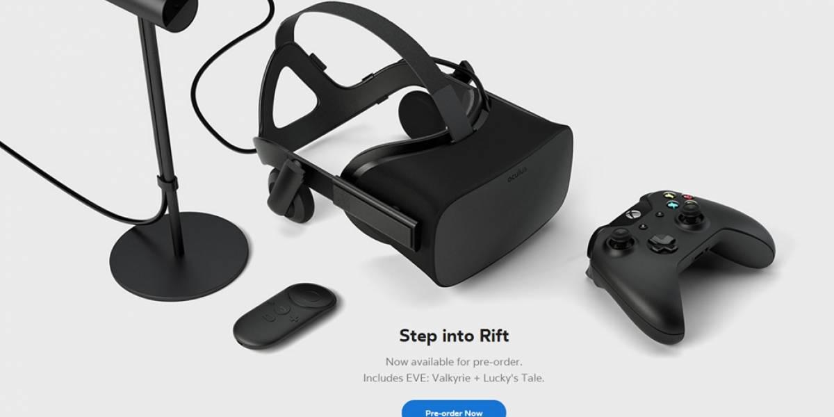 Oculus Rift ya tiene precio: Cuesta USD$ 599