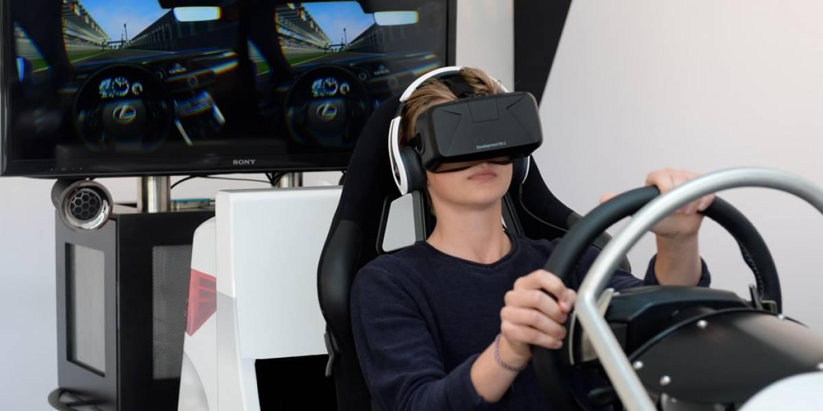 Lexus muestra el potencial de Oculus Rift como plataforma de simulación