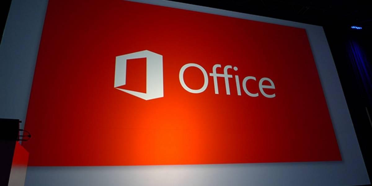 Microsoft prefiere que arriendes Office 2013, no que lo compres