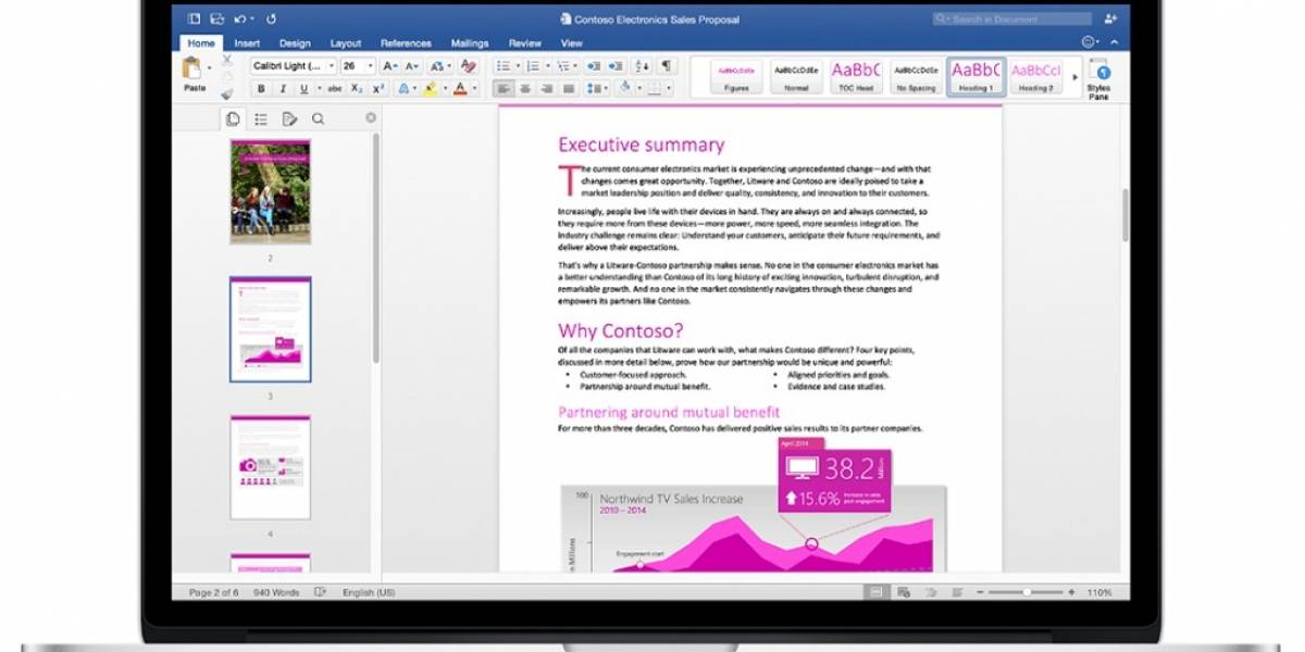 Office 2016 ya está disponible para Mac