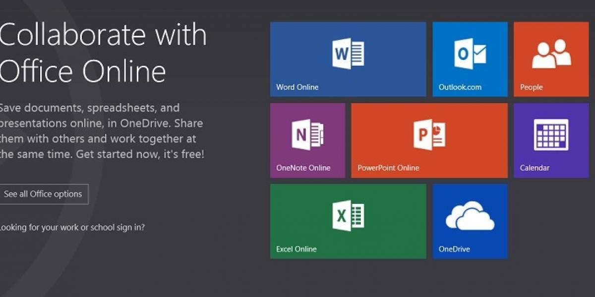 Microsoft Office Online ahora permite la coautoria de documentos en la nube