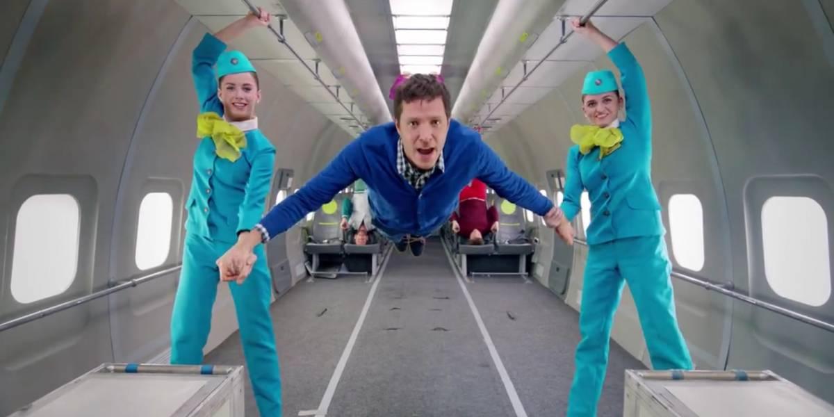OK Go grabó su nuevo y espectacular video en gravedad cero