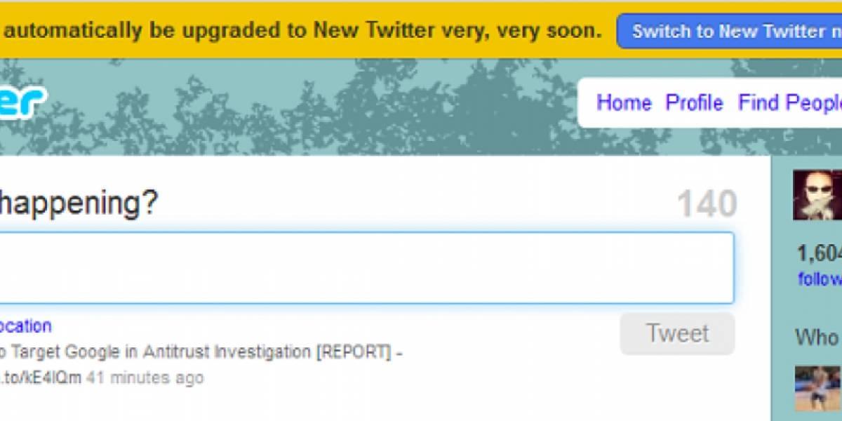 """Twitter va a eliminar su versión antigua """"muy pronto""""; tweets publicitarios aparecerán en el timeline"""
