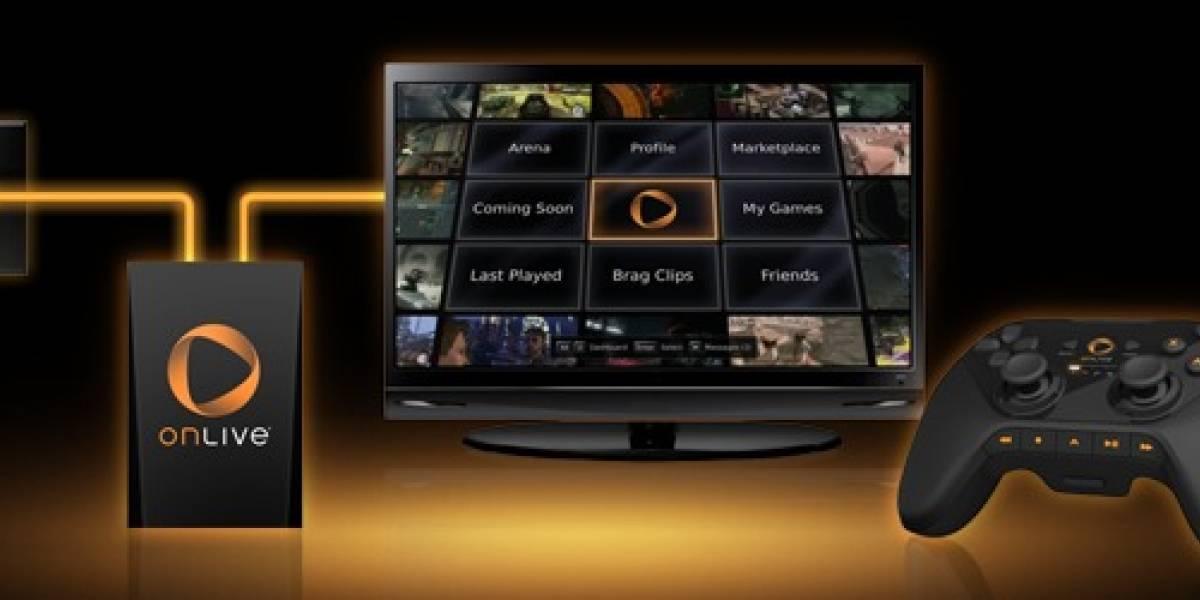 Consola OnLive sale a la venta el 2 de diciembre