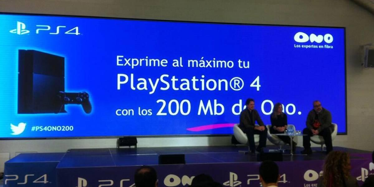 Ono ofrece conexión de 200 Mbps con PlayStation 4