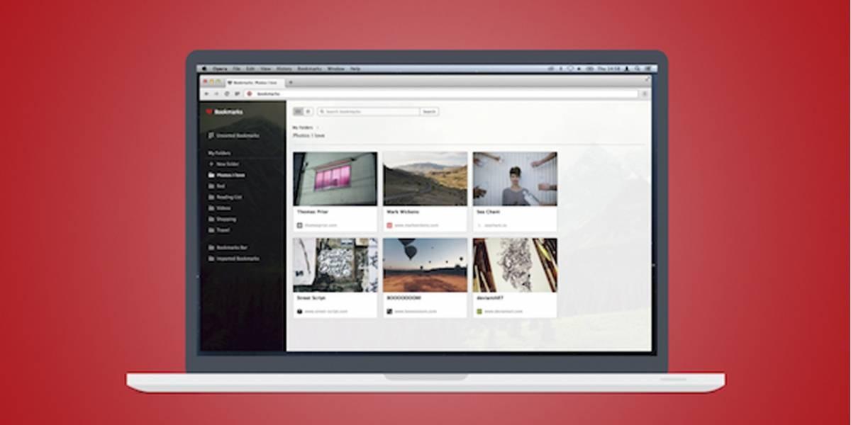 Opera para PC llega a su versión 25 con un interesante gestor de favoritos