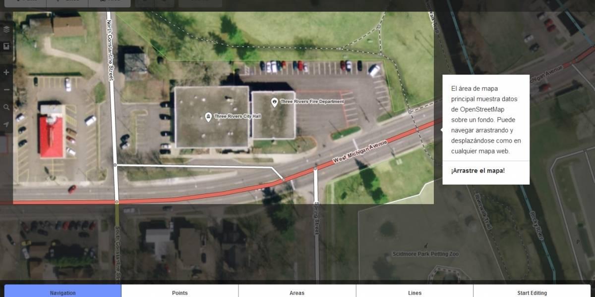 OpenStreetMap, la Wikipedia de los mapas, estrena nuevo editor para colaboradores
