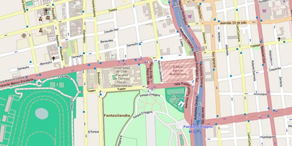 Comunidad OpenStreetMap llega en septiembre a Chile para hablar sobre sus nuevos desafíos