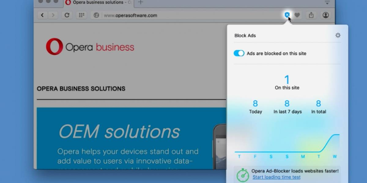 Opera 37 disponible con bloqueador de anuncios integrado