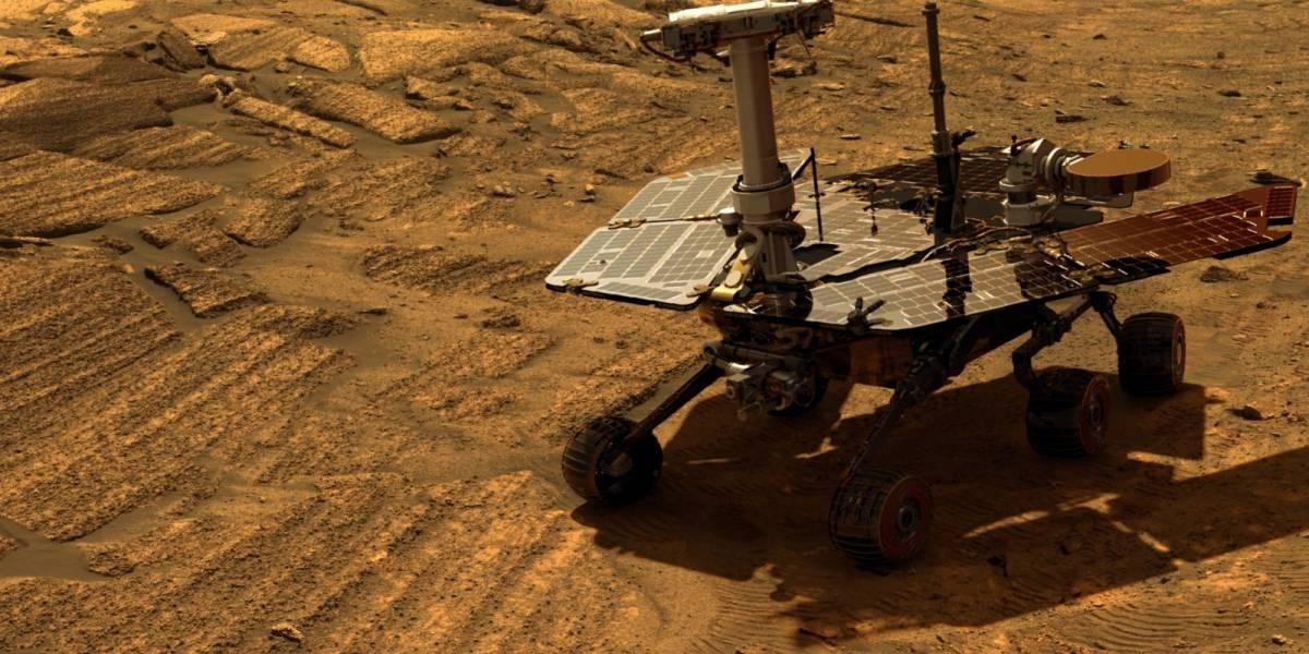 Rover Opportunity rompe récord de distancia recorrida por un vehículo fuera de la Tierra
