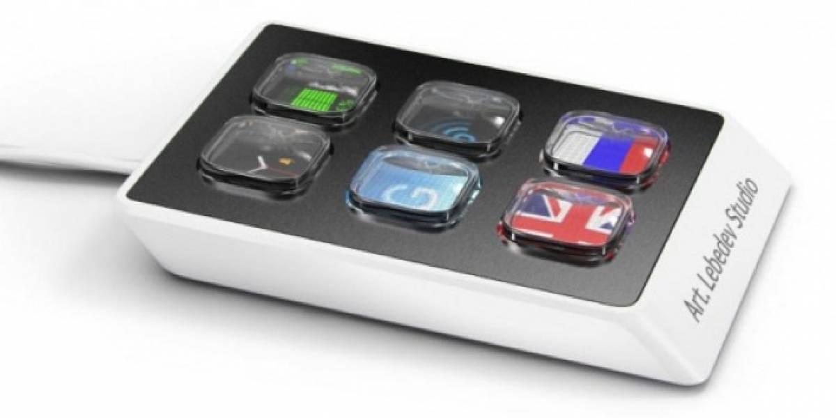 El Optimus Mini Six de Art Lebedev está en producción, todo lo demás sigue atrasado