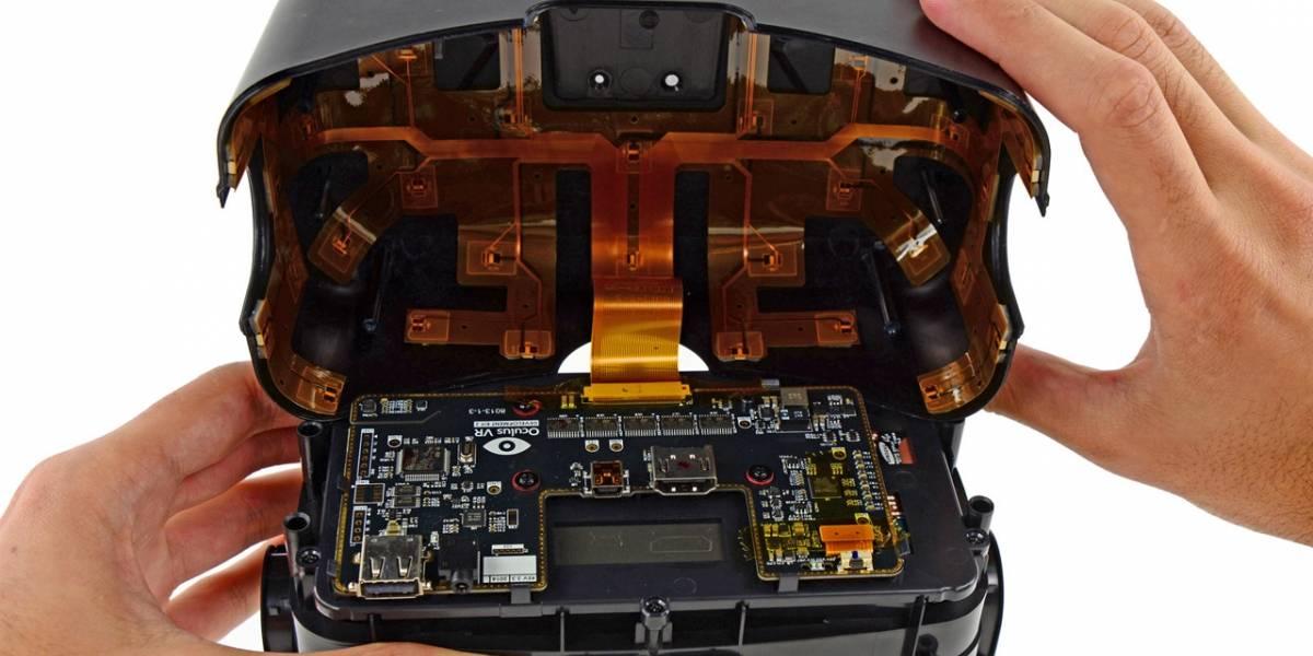 Especialistas desarman un Oculus Rift y se encuentran con un par de sorpresas